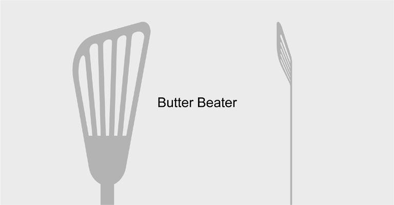 バタービーターのイラスト