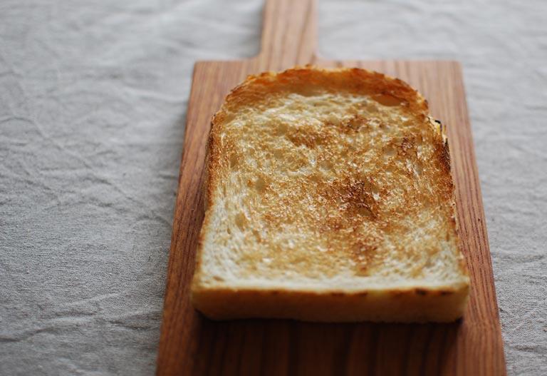 焼いたトースト