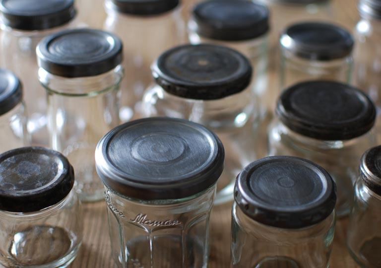 リメイクした色々な瓶