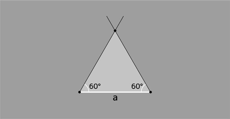正三角形の描き方