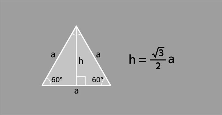 高さを求める公式