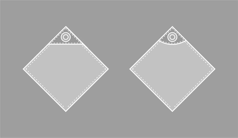 アクセントのデザイン例
