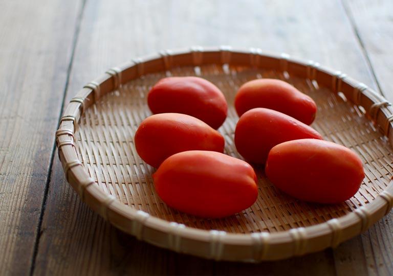 加熱調理用のローマ種トマト