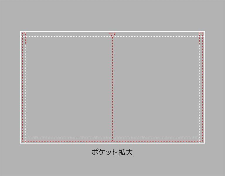 縫い方の拡大イラスト