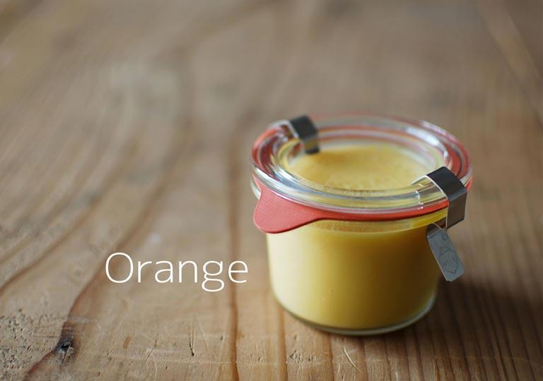 瓶詰めのオレンジカード