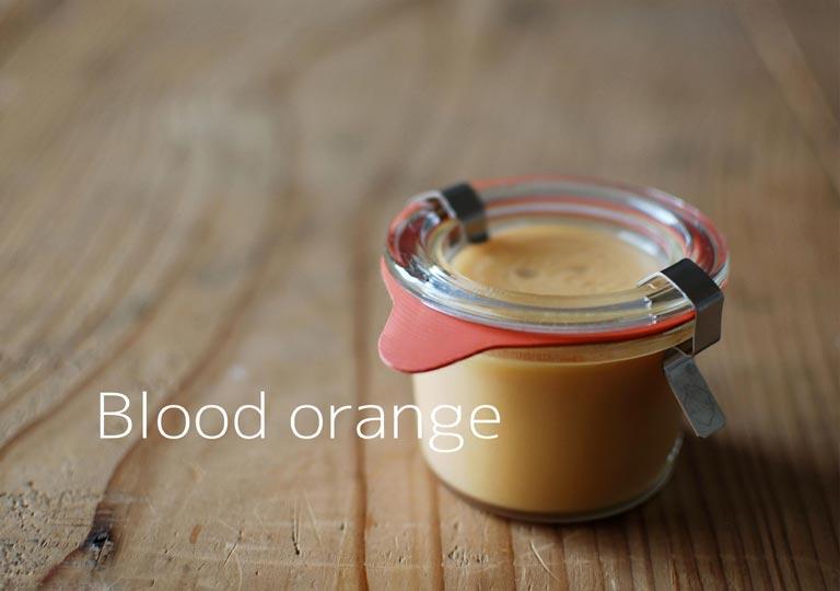 瓶詰めのブラッドオレンジのカード