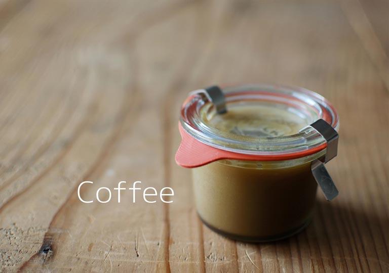 瓶詰めのミルクコーヒーカード