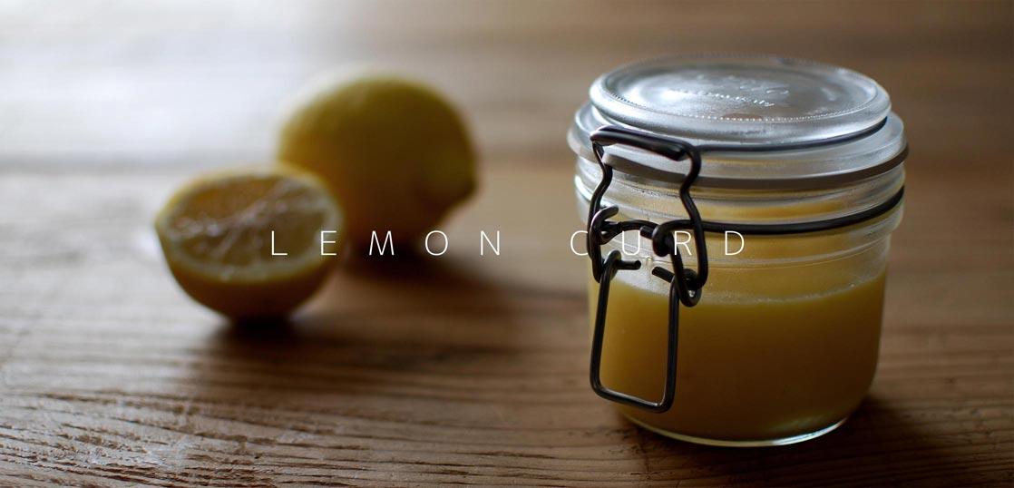 瓶詰めにしたレモンカード