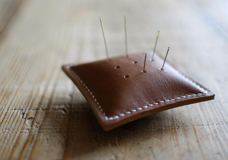 縫い針専用の針山