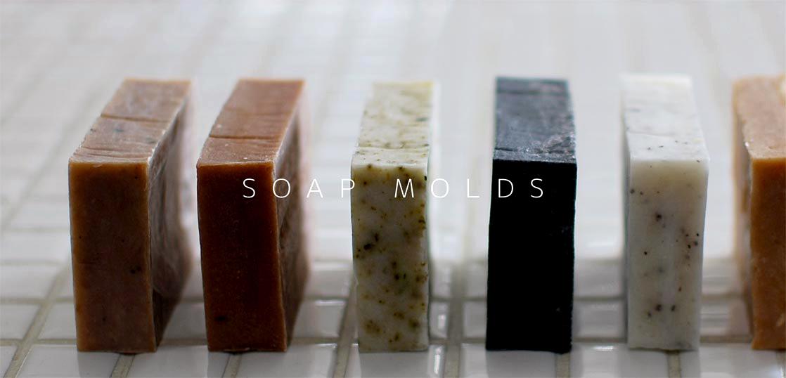 色々な種類の石鹸